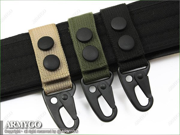 【ARMYGO】勤務扣環(一般款) (兩入裝) (三色可選擇)