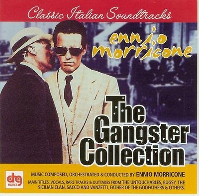 """The Gangster Collection-2CDs""- Ennio Morricone(32),美版"
