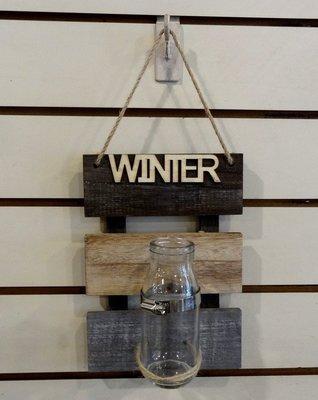 Bunny House~玻璃罐壁飾-冬97-16LW18210D(吊瓶.水生植物.竹子.與好博家HomeBox風格相似)