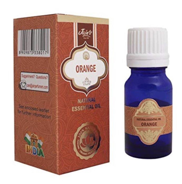 [綺異館]印度精油 柑橘 10ml JAIN'S ORANGE 另售印度皂 印度香
