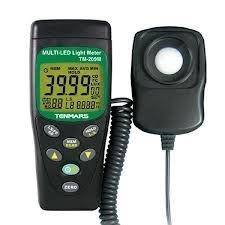TECPEL 泰菱 》TM-209M LUX FC LED 照度錶 實體店面
