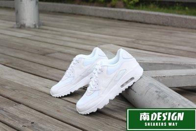 南◇現  NIKE AIR MAX 90 MESH GS 全白 白色 833418-100 復古 氣墊 女鞋
