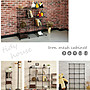[tidy house](6格)工業風鐵網置物架魔術方塊收納櫃 鐵網格組合櫃 鐵線 鐵網 收納櫃 多用途鐵網置物架