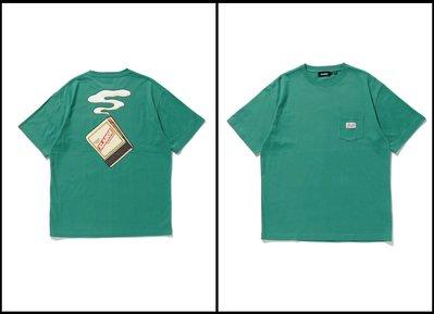 XLARGE S/S POCKET TEE MATCHES 火材口袋101212011014。太陽選物社