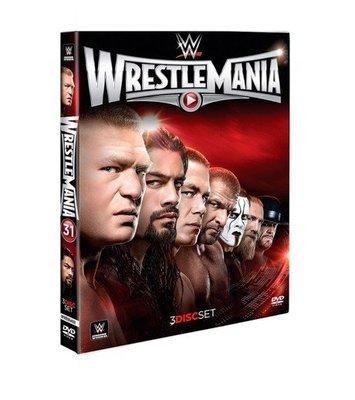 ☆阿Su倉庫☆WWE摔角 WrestleMania 31 DVD WM31摔角狂熱精選專輯 熱賣特價中