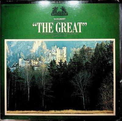 【198樂坊】舒伯特-第9號交響曲(柏林廣播/尤金·約夫姆.............)LP/B