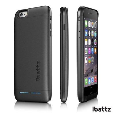 平行輸入下殺3折【ibattz】apple iphone 6 plus 電源手機殼 背蓋式行動電源 電池保護殼(奢華黑)