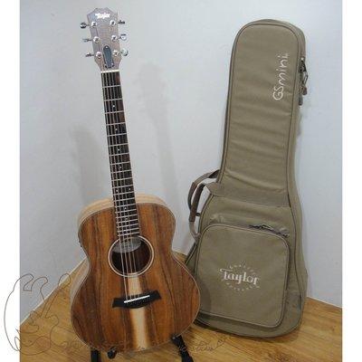 [免運費]Taylor GS Mini-e KOA 限量相思木單板36寸旅行電木吉他 附原廠厚琴袋 歡迎來店試彈