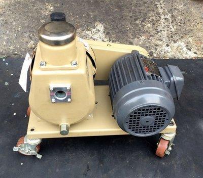日本優貝克 ULVAC D-330K/1HP油式真空幫浦/真空機---冷凍空調抽真空、真空包裝、翻模、真空脫泡機可用