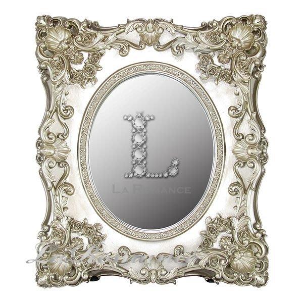 【芮洛蔓 La Romance】Ariani 系列歐式浪漫新貴梳妝鏡 / 桌鏡 / 擺件
