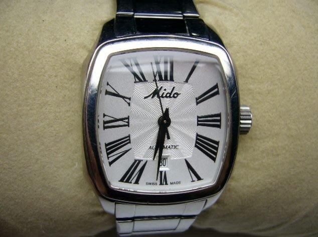 [吉宏精品交流中心]MIDO 美度 不鏽鋼 鋼帶 自動機械 女錶