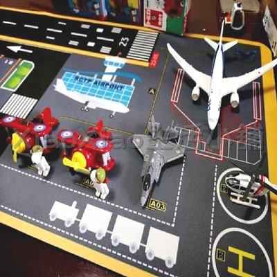 桃園機場趣 《1:64》模型車主題地墊 ( TOMICA 迴力車 超跑 小汽車 機器人 樂高)