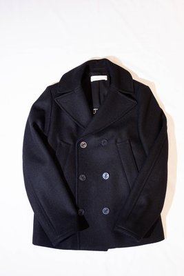 GOLDEN GOOSE WOOL DOUBLE BREASTED OVERCOAT. 短大衣