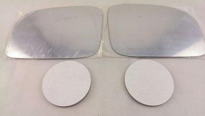 ~HDS~三菱 SAVRIN 01~ 04 白鉻鏡片 一組 左 右 防眩 廣角 貼黏式