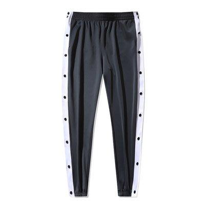 NBA籃球運動長褲 排扣版 熱身服 無隊徽 多樣顏色