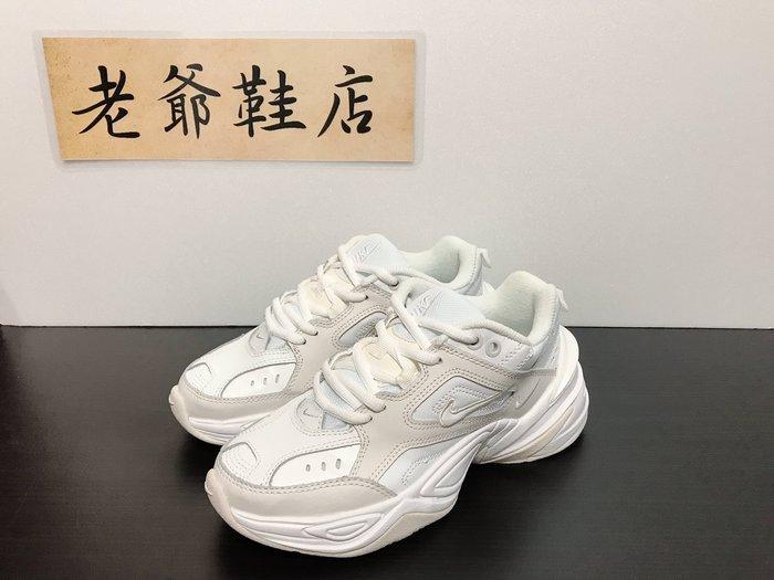 【老爺鞋店】Nike Monarch M2K 白色 米白 灰白 復古 老爹鞋 厚底 增高 休閒 AO3108-006