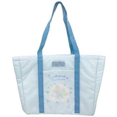 日貨 角落生物 野餐包 藍 保溫袋 大包包 野餐袋 大袋子 側背包 角落小夥伴 正版 J00016444