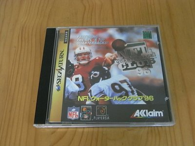 【小蕙館】SS~ NFL QUARTERBACK CLUB'96 美式足球賽 (純日版)