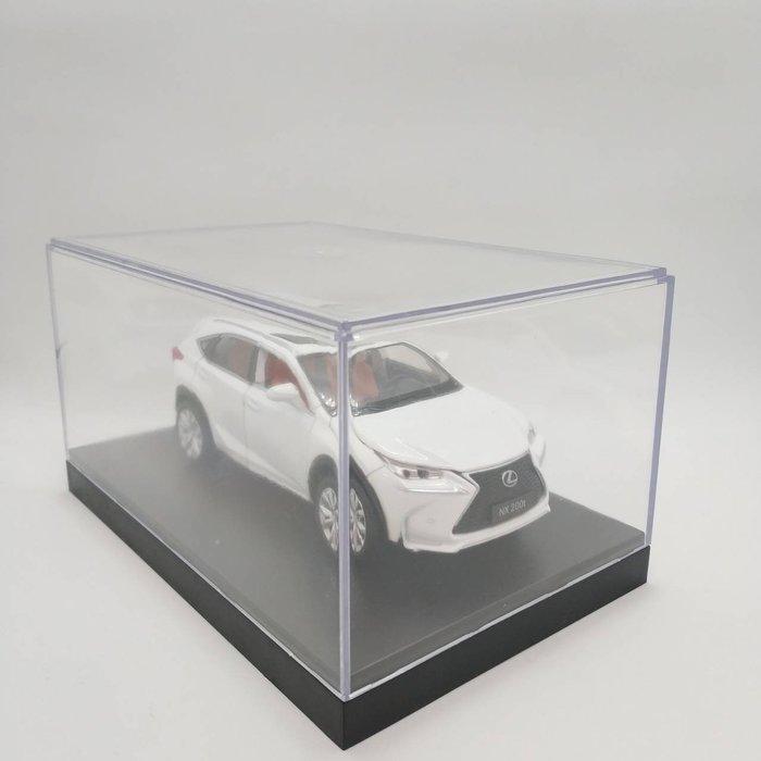 透明壓克力展示箱 模型車展示盒 模型車防塵箱 車模收納 扭蛋 食玩小公仔展示盒 四驅車收納