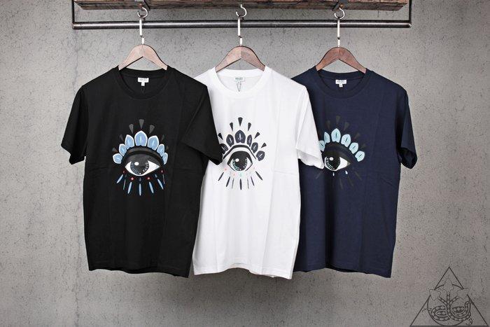 【HYDRA】Kenzo Eye T-shirts 眼睛 短T 黑 白 藍【5TS0494YY】