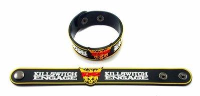 【小間搖滾】KILLSWITCH ENGAGE☆進口Punk Rock搖滾龐克樂團  橡膠手環