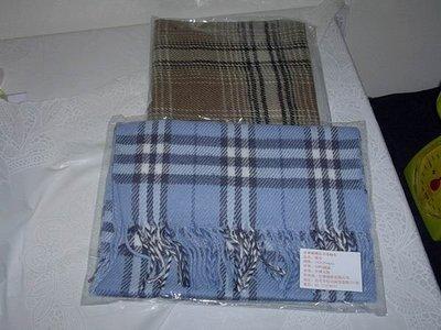 全新時尚格紋圍巾  購買價 : 88 元