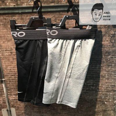 【AND.】NIKE Pro 男裝 短褲 慢跑 緊身 訓練 排汗 透氣 黑BV9386-0100/灰黑085