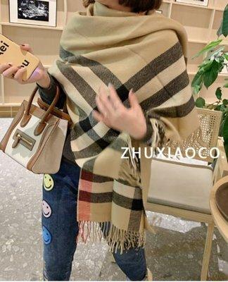 EMPRESSZ【3488】正韓東大門BB感氣質羊毛呢圍巾(現貨)