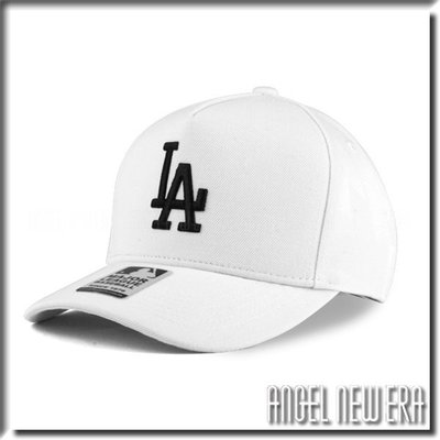 【ANGEL NEW ERA 】MLB Old Fashioned Cap LA  洛杉磯 道奇 白 卡車司機帽 五片