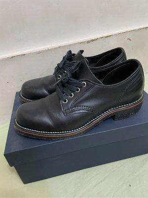 二手美品 Chippewa 低筒真皮皮鞋 black whirlwind 1901M73 尺寸7D