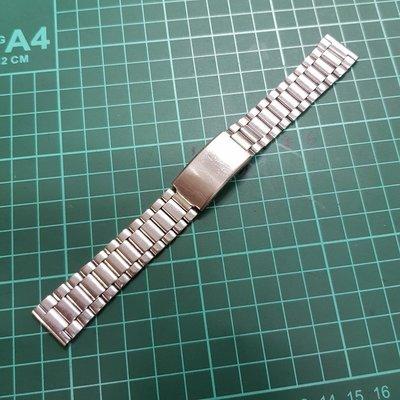 機械錶最愛 早期 18mm 錶帶 不銹鋼錶帶 非 MK IWC CK TELUX SEKIO ORIENT CITIZEN 機械錶 石英錶 G08