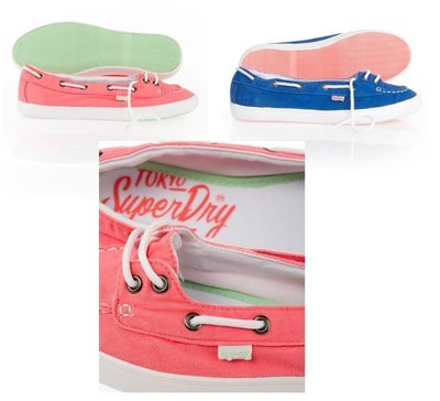 Superdry 女 休閒鞋 帆船鞋 boat shoes Normcore 極度乾燥 英國 【紐約Tama的店】