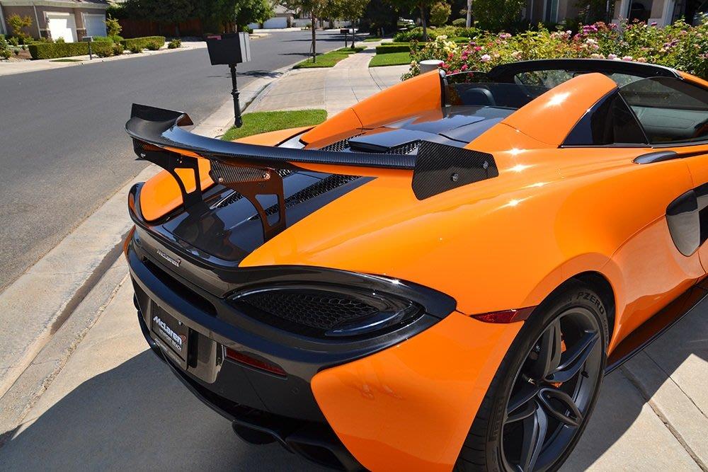 =1號倉庫= Agency Power GT4 碳纖維 尾翼 McLaren 570S Spider 570GT