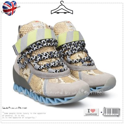 .UK High Street.英國代購 CAMPER 裸色蛇紋 Bernhard Willhelm 增高球鞋 休閒鞋