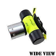 【UP101】【WIDE VIEW】螢光U2潛水頭燈(NZL-WU2-T)