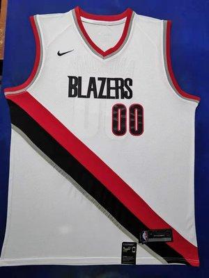 卡梅羅·安東尼(Carmelo Anthony)NBA波特蘭拓荒者隊 球衣 00號 白色