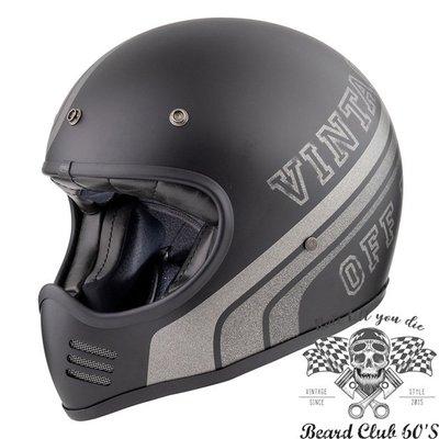 ♛大鬍子俱樂部♛ Premier® Trophy MX BTR 9 BM 義大利 復古 消光 山車 全罩 安全帽
