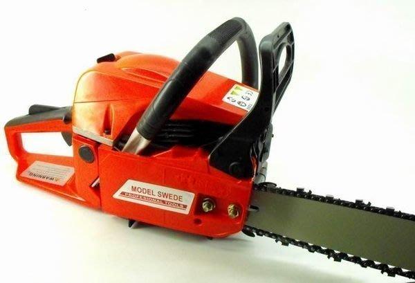 【買家購】全新16吋引擎式鏈鋸機~空冷式二行程單汽缸~園藝鋸木好工具