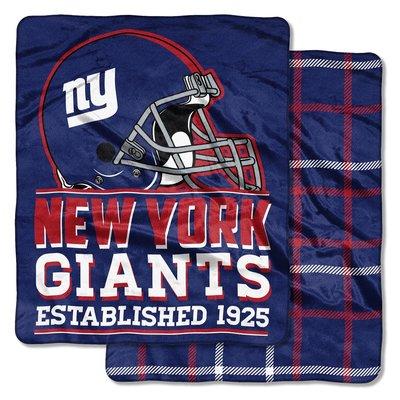 [現貨]美式足球雙面毛毯 NFL紐約巨人New York Giants Double-Sided空調毯午睡毯交換生日禮品