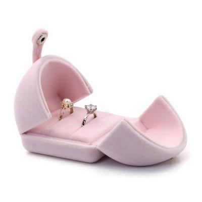 首飾盒 結婚戒指盒婚禮手鐲盒高端創意歐式森系結婚對戒盒婚慶吊墜盒高檔