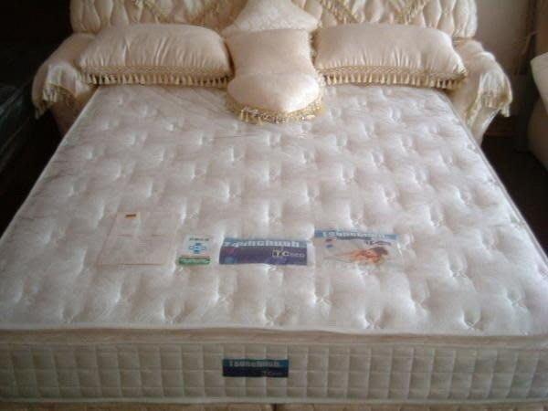 ※專業睡眠館※活性碳頂級英國天然乳膠3線護背獨立筒床墊 雙人可訂製尺寸~國際雙ISO認證 A