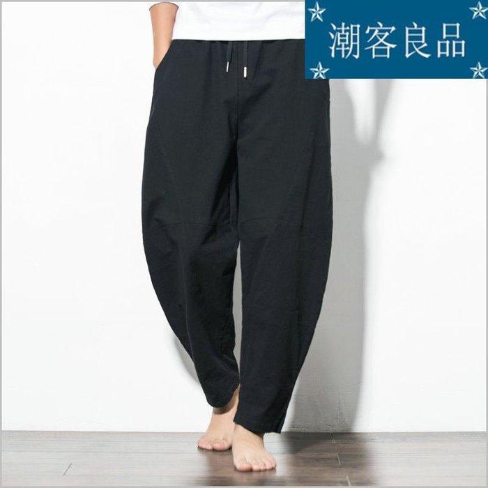 [潮客良品]~~~夏季新款青年時尚休閑褲寬松純色長褲大碼潮男 cklp5757