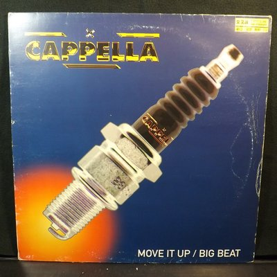 黑膠唱片 CAPPELLA-MOVE IT UP/BIG BEAT~10JD17~A54