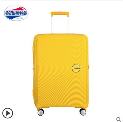 100% 新 [20寸可登機] AMERICAN TOURISTER Curio Spinner 55 - Golden Yellow |