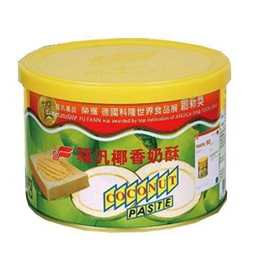 福汎 椰香奶酥醬 450g 另有 巧克力醬 純奶酥