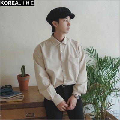 搖滾星球韓國代購  百搭口袋襯衫 / 4色 EF992148