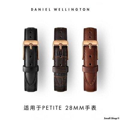 Small Shop✲  DANIELWELLINGTON丹尼爾惠靈頓 DW女表12MM針扣皮革表帶