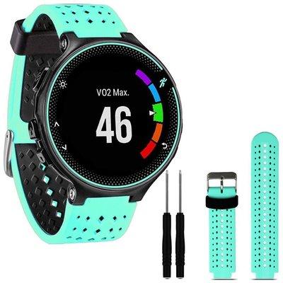 手錶配件 錶帶 錶扣  適配Garmin佳明Forerunner 235/620/630橡膠表帶  多色硅膠表帶