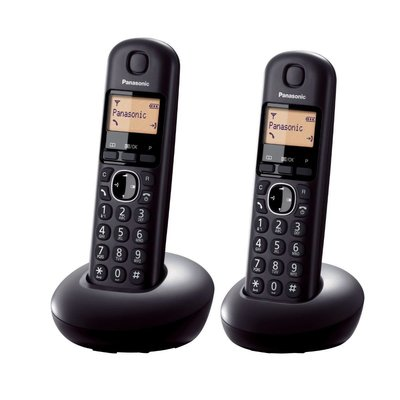【101-3C數位館】 Panasonic 國際牌數位DECT 無線電話 KX-TGB212TW (松下公司貨) 黑色