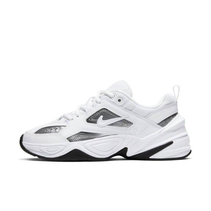 沃皮斯§Nike M2K Tekno ESS 白銀 老爹鞋 女鞋 CJ9583-100